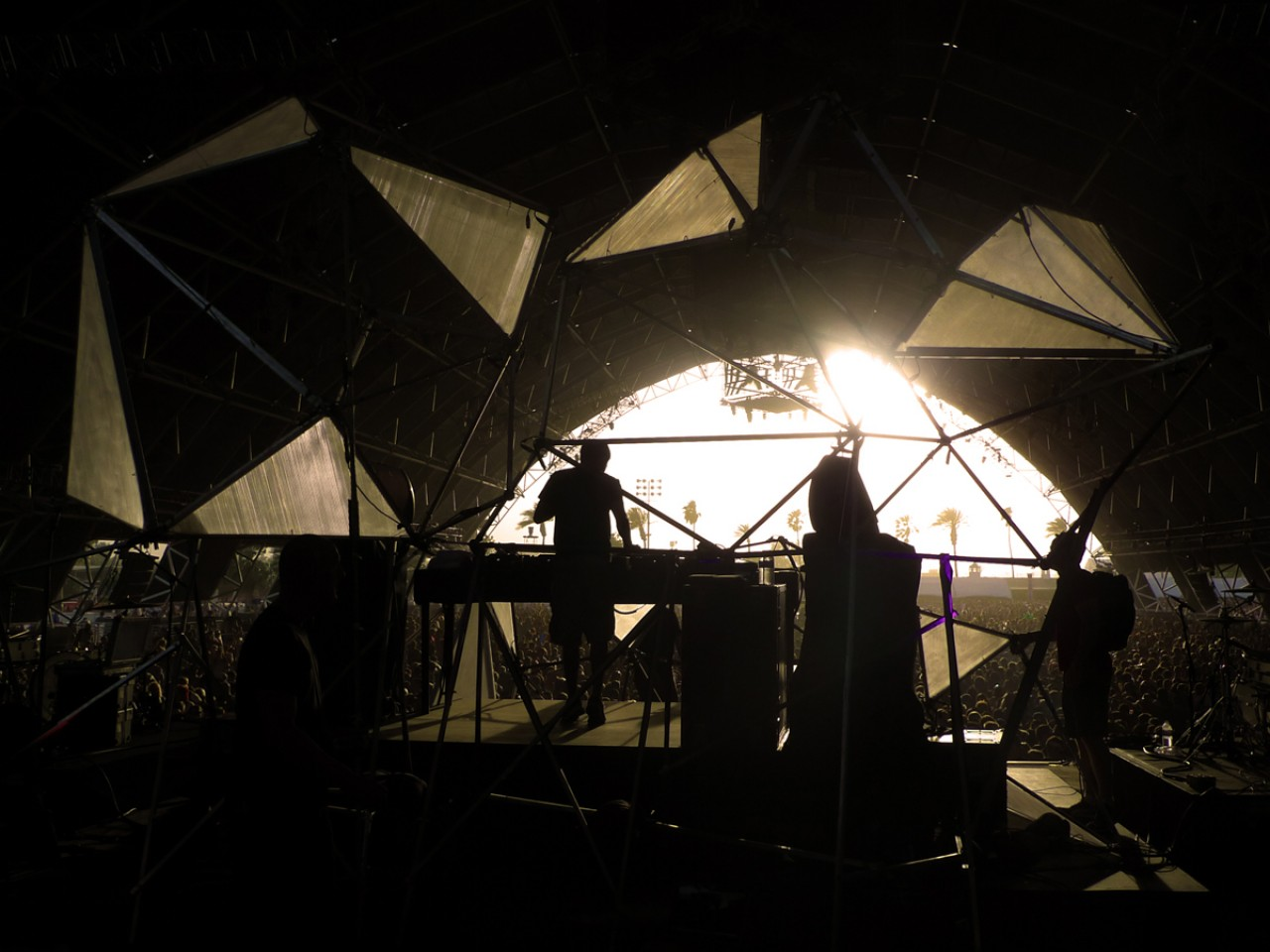 Sahara Tent Coachella